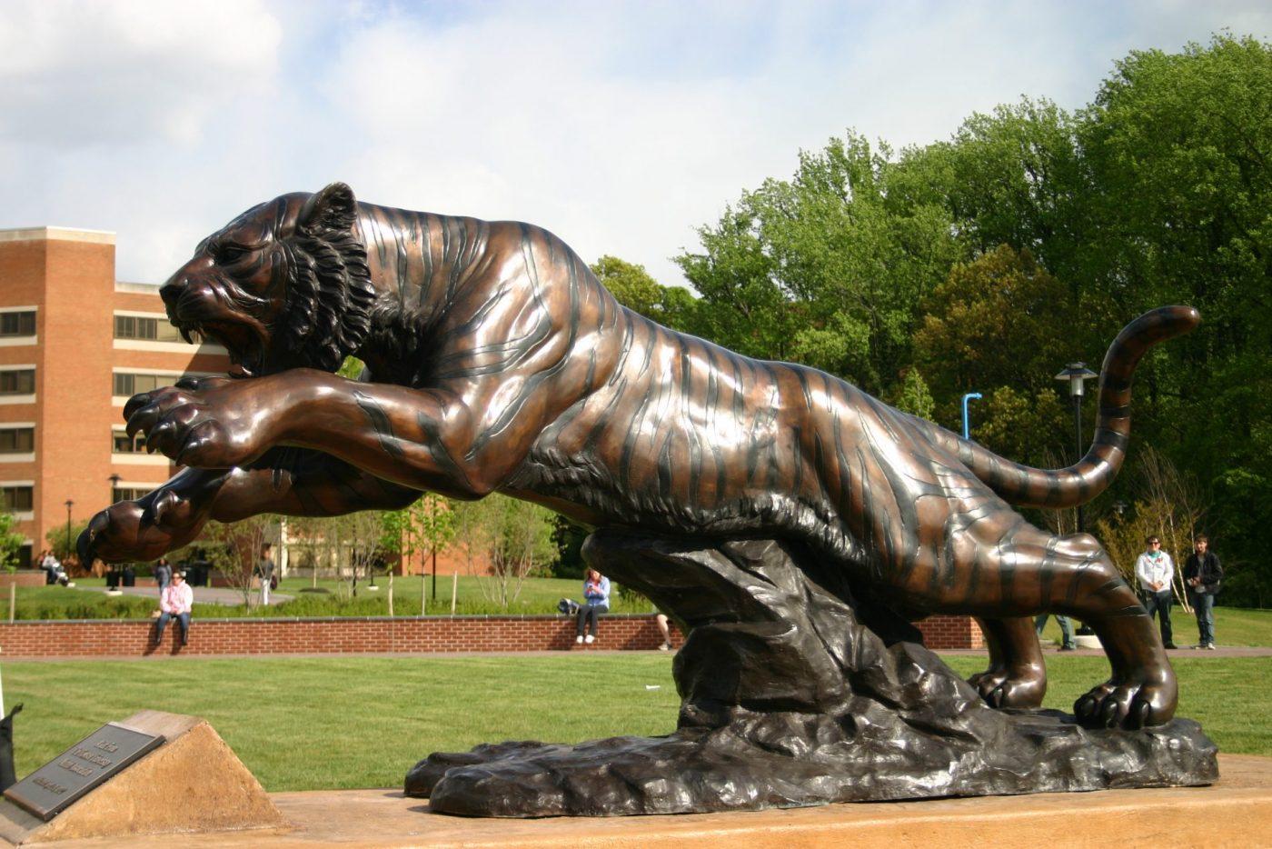 Custom Bronze Mascots