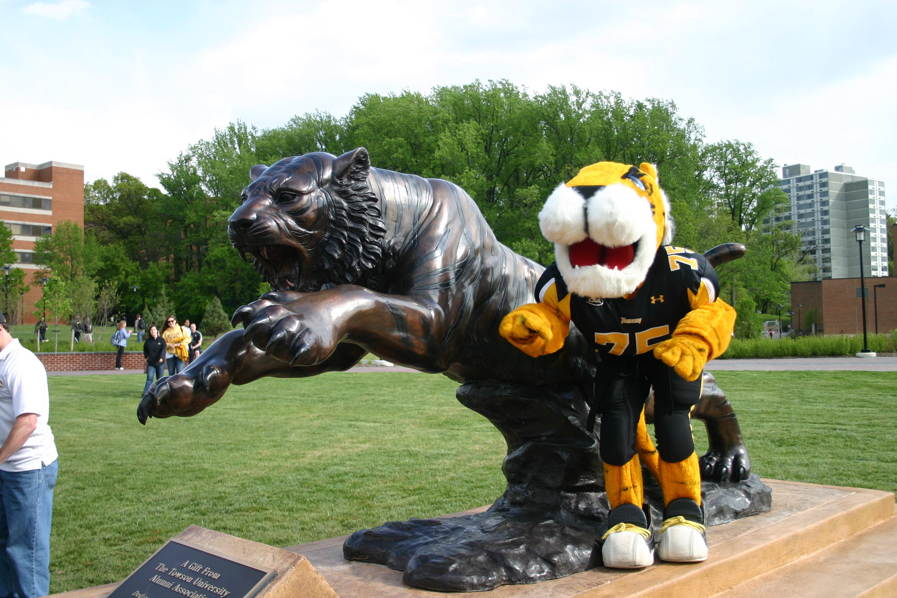 Bronze School Mascots