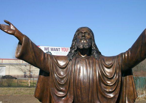 bronze jesus christ redeemer