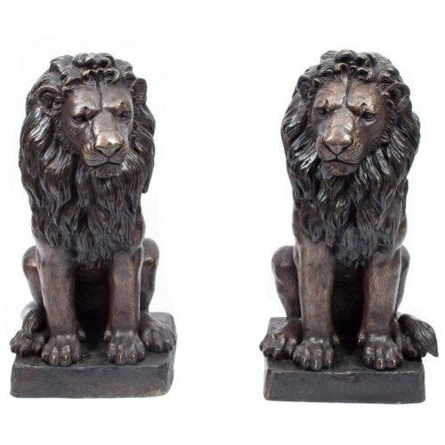 Pair Lions A5152