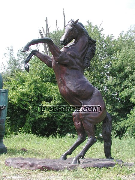 Giant Rearing Horse