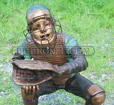 Baseball Boy - Catcher