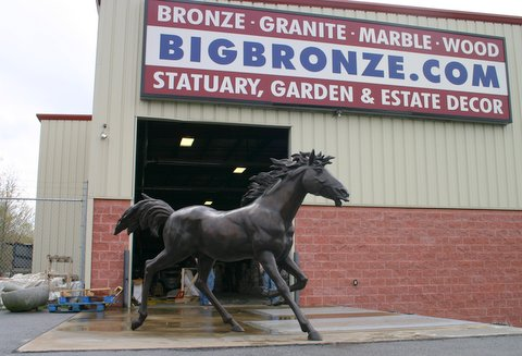 Life Size Running Horse