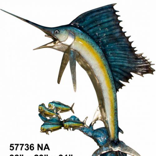 Sword Fish Special Patina Nautical Sculpture