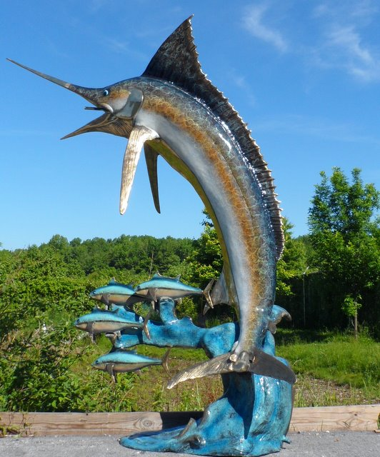 Swordfish Special Edition Sailfish Sculpture